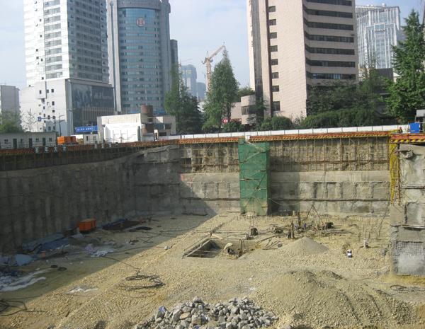 四川传媒大厦基坑工程